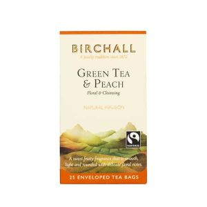 Birchall Green Tea Peach