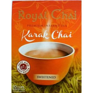 Royal Chai Karak Chai Latte (sweetened)