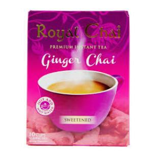 Royal Chai Ginger Chai sweetened