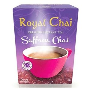 Royal Chai Saffron Chai Latte (sweetened)