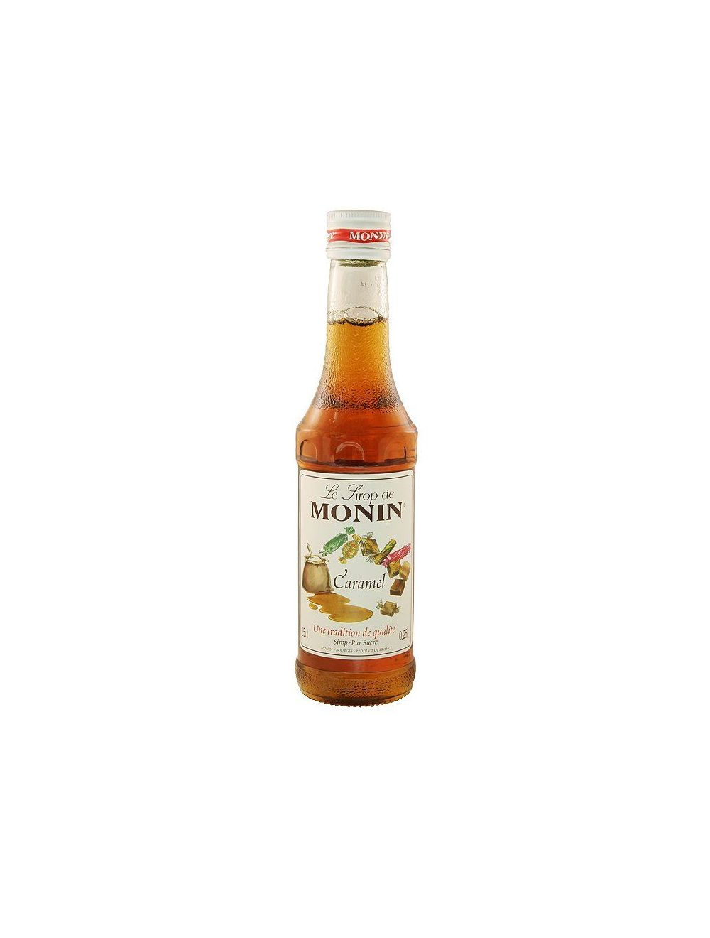 Monin Caramel Syrup 250ml Bottle